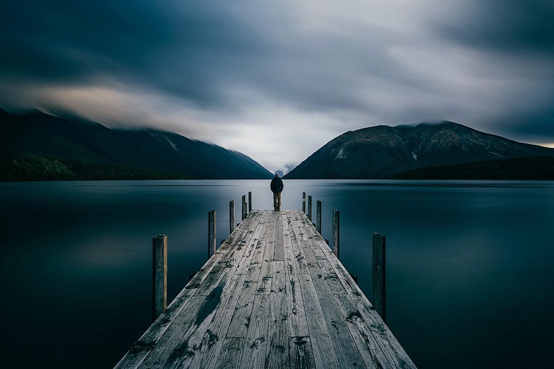 Lake Rotoiti Selfie