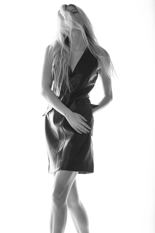 Leather Dress: Bar lll