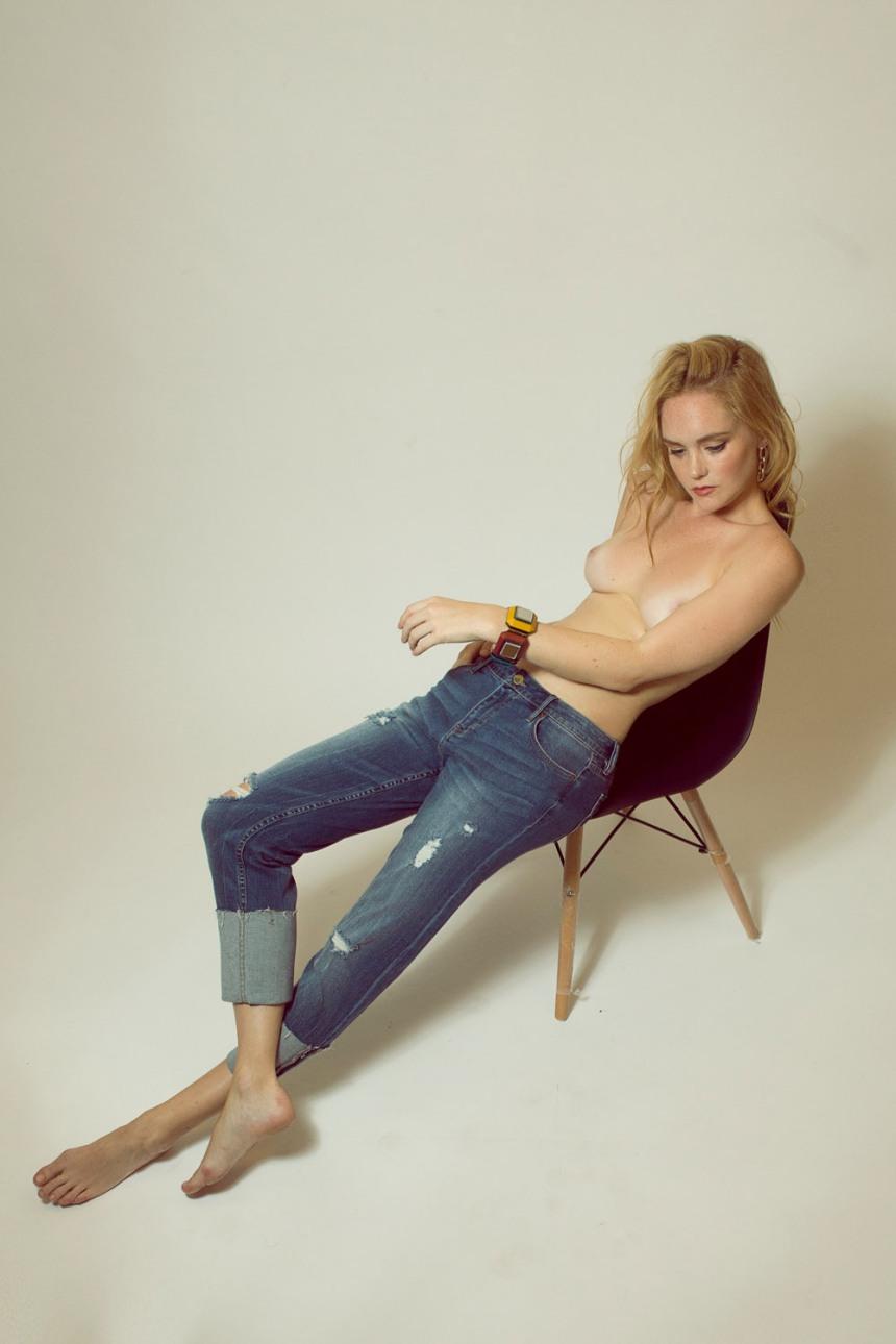 Jeans: Calvin Klein, Cuff: Bimba & Lola