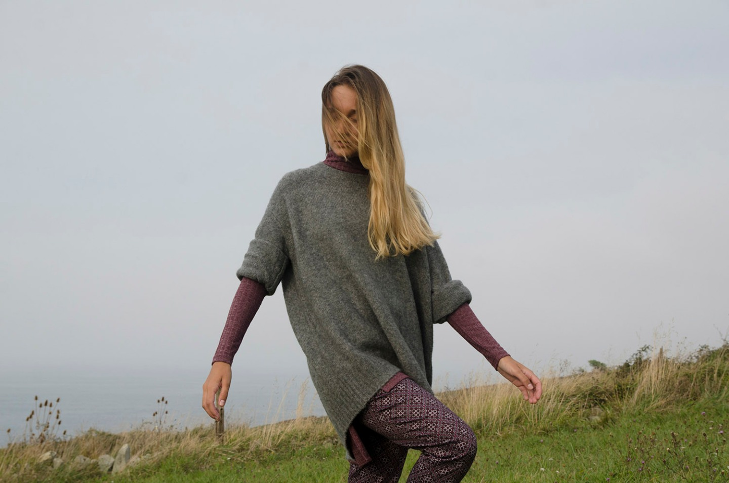 Sweater: Lieberland, Trousers: Freequest