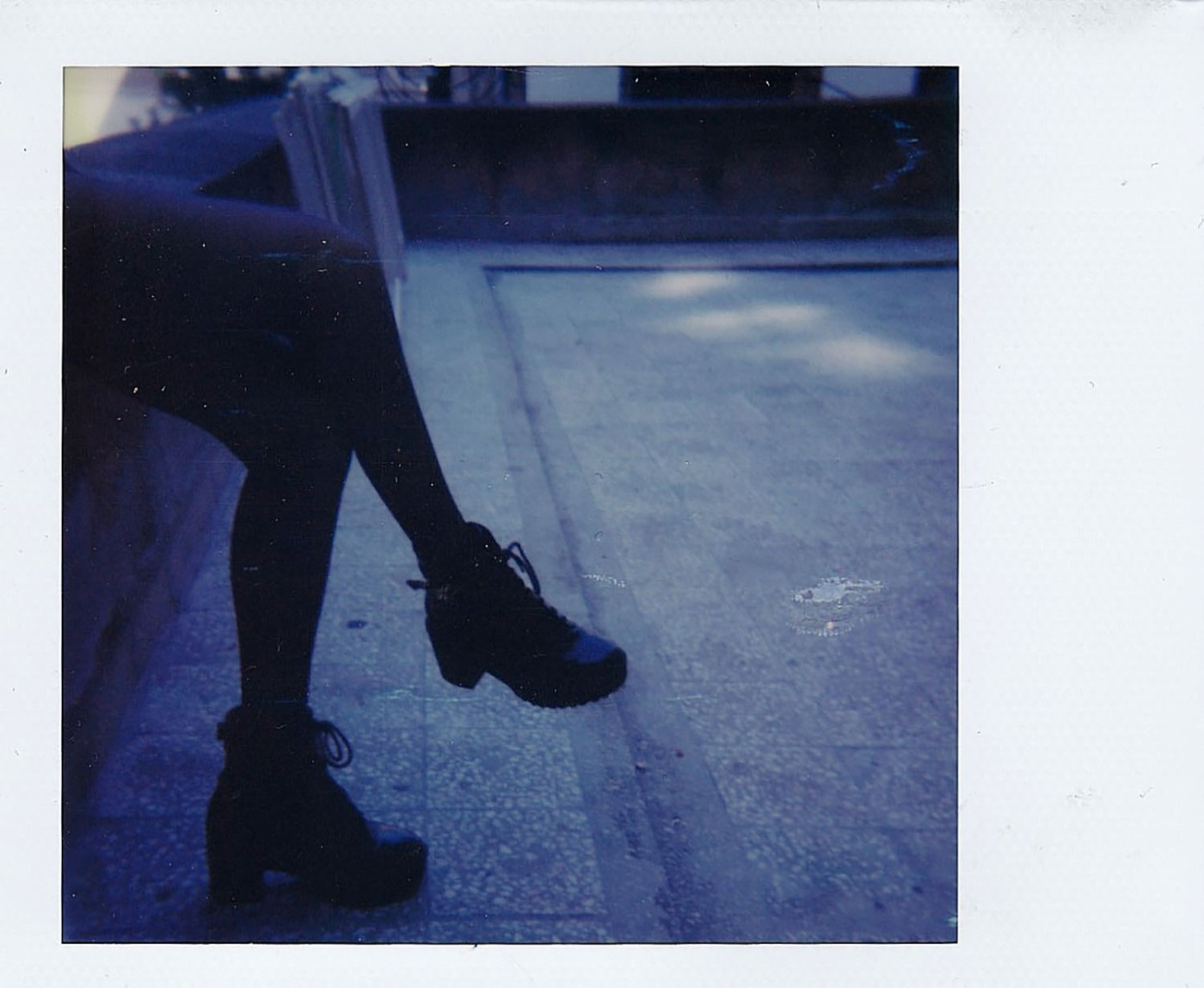 A polaroid photograph by Andreea Andrei as published in Photo/Foto Magazine