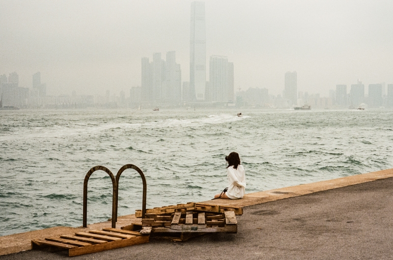 A photograph by Wong Wei-him as published in Photo/Foto Magazine